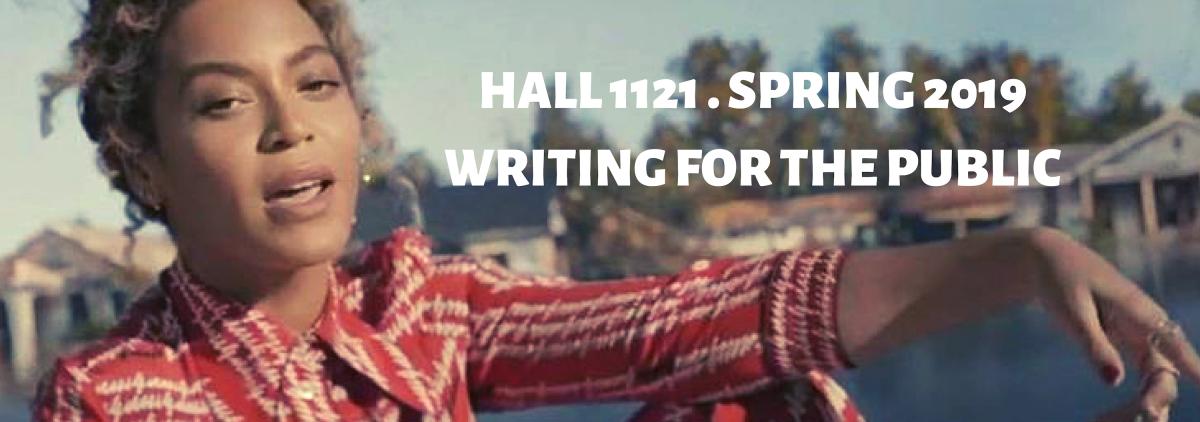 Hall 1121 Spring 2019