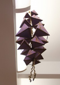 """Sinead's """"Suspended Tetrahedrons"""" (Spring 2016)"""