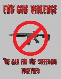 End gun violence poster