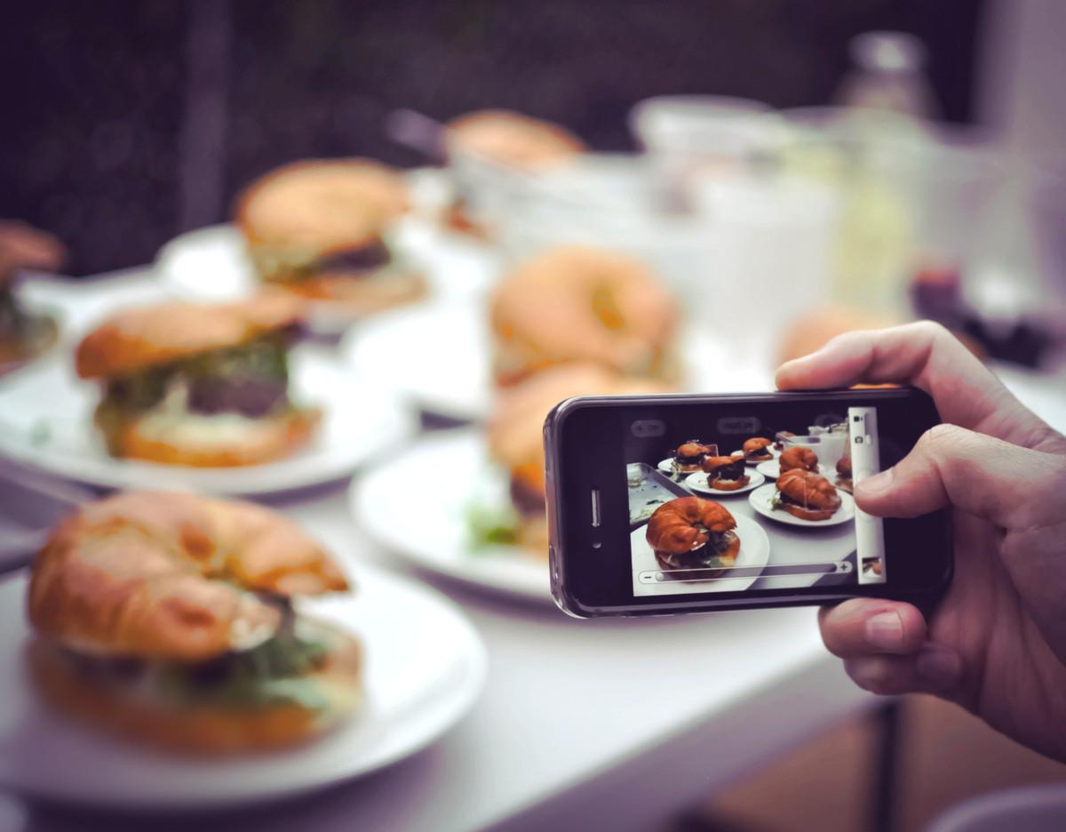 Как фотографировать еду для инстаграмма чем что