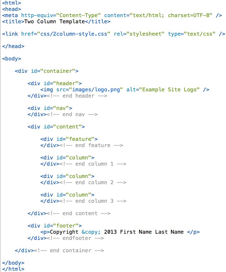html-2col