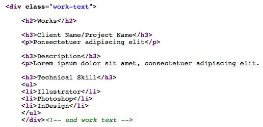 work-text