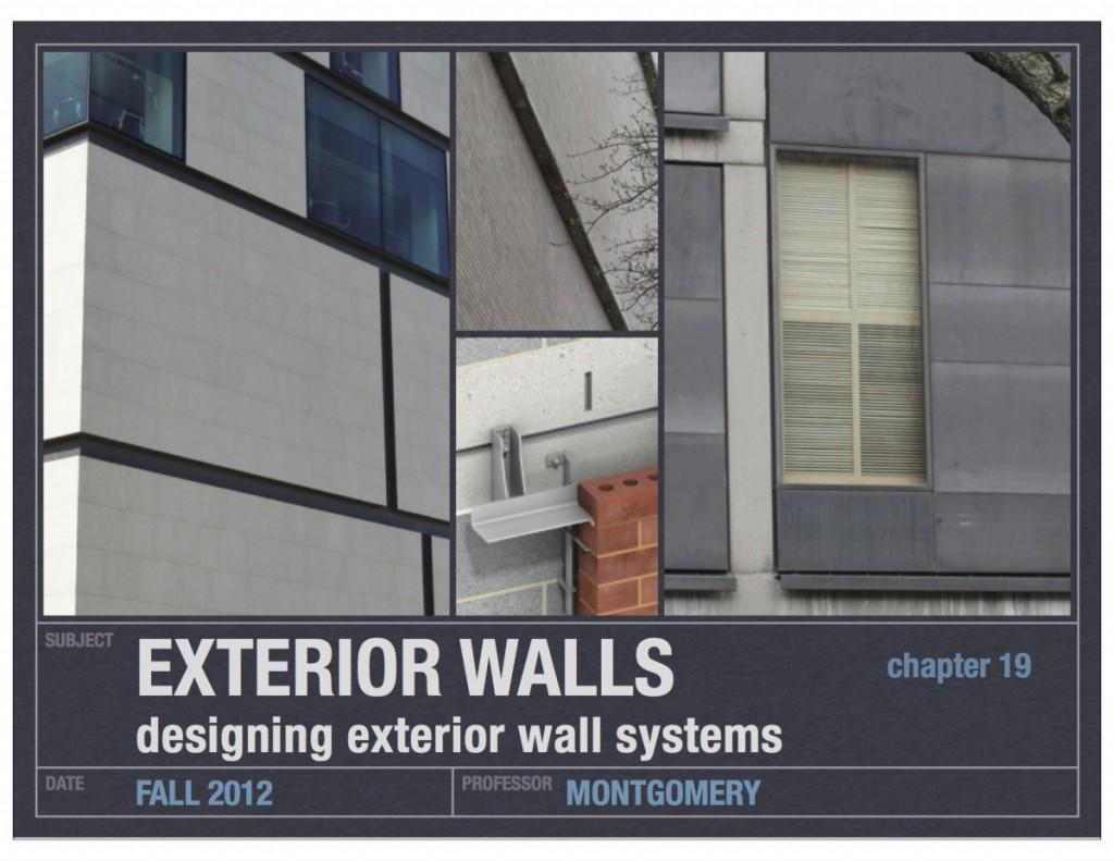 11_designing exterior walls