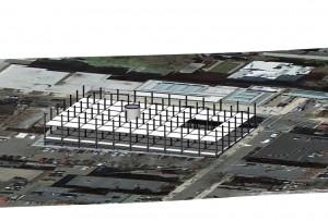 sketchup sample_second floor plan view