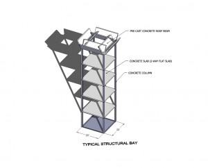 sketchup sample_structural bay