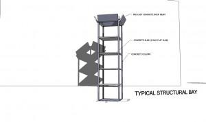 sketchup sample_structural bay_2