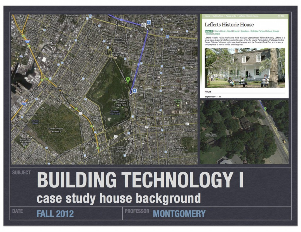 case study house_lefferts background