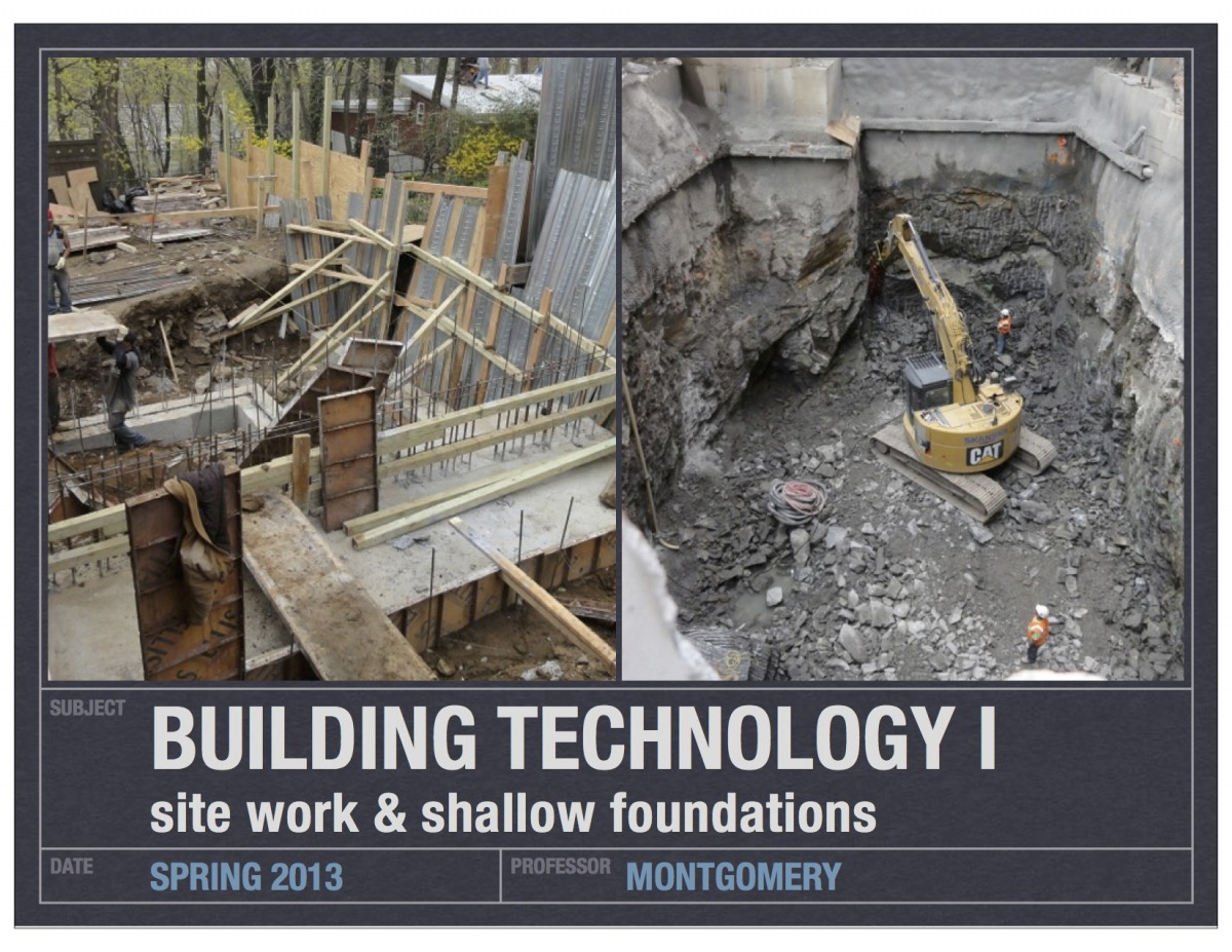 07_Building Tech I_site work-shallow foundations (dragged)