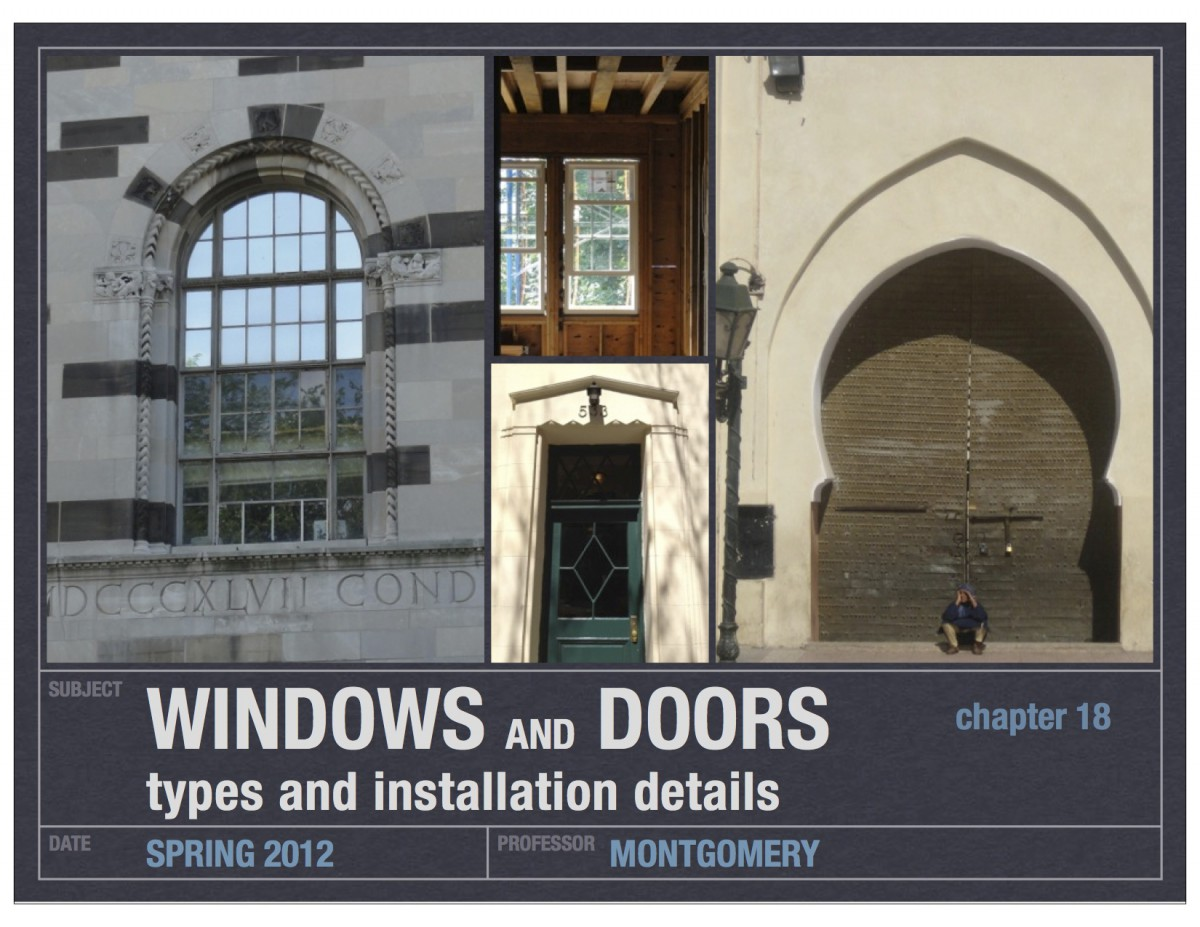 11_doors and windows_chapter 18