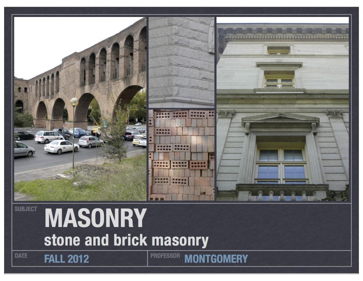 11_stone and brick masonry