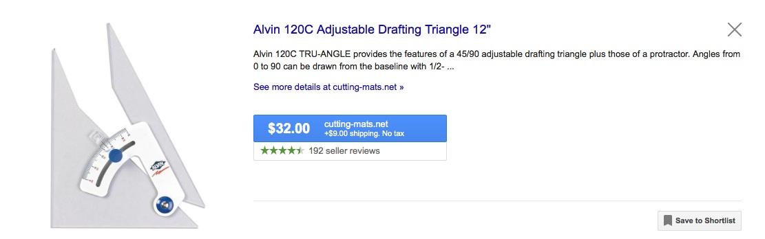 adjustable triangle