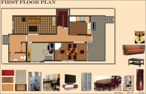 First Floor Plan Board 12