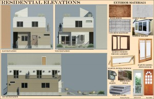 Residential Elevation Board 10