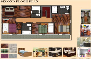Second Floor Plan Board 13