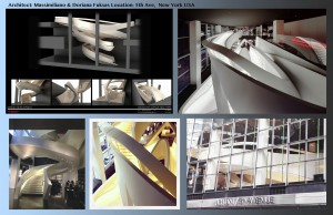 Armani staircase