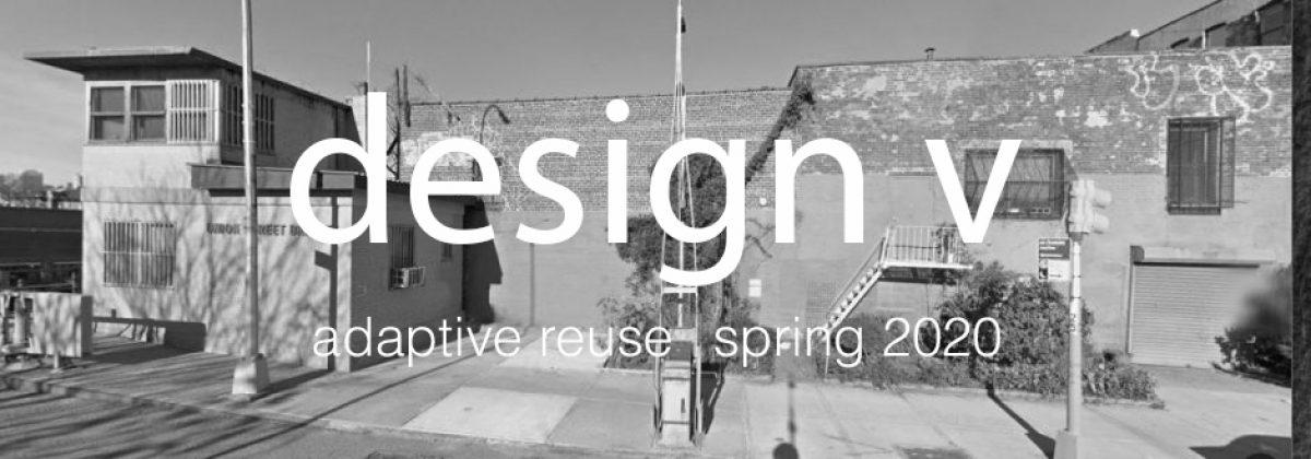 ARCH 3512 Design V Spring 2020