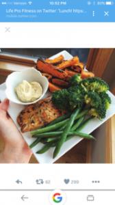 veggie and fish