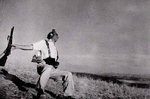 Loyalist Militiaman at the Moment of Death, Cerro Muriano, September 5, 1936