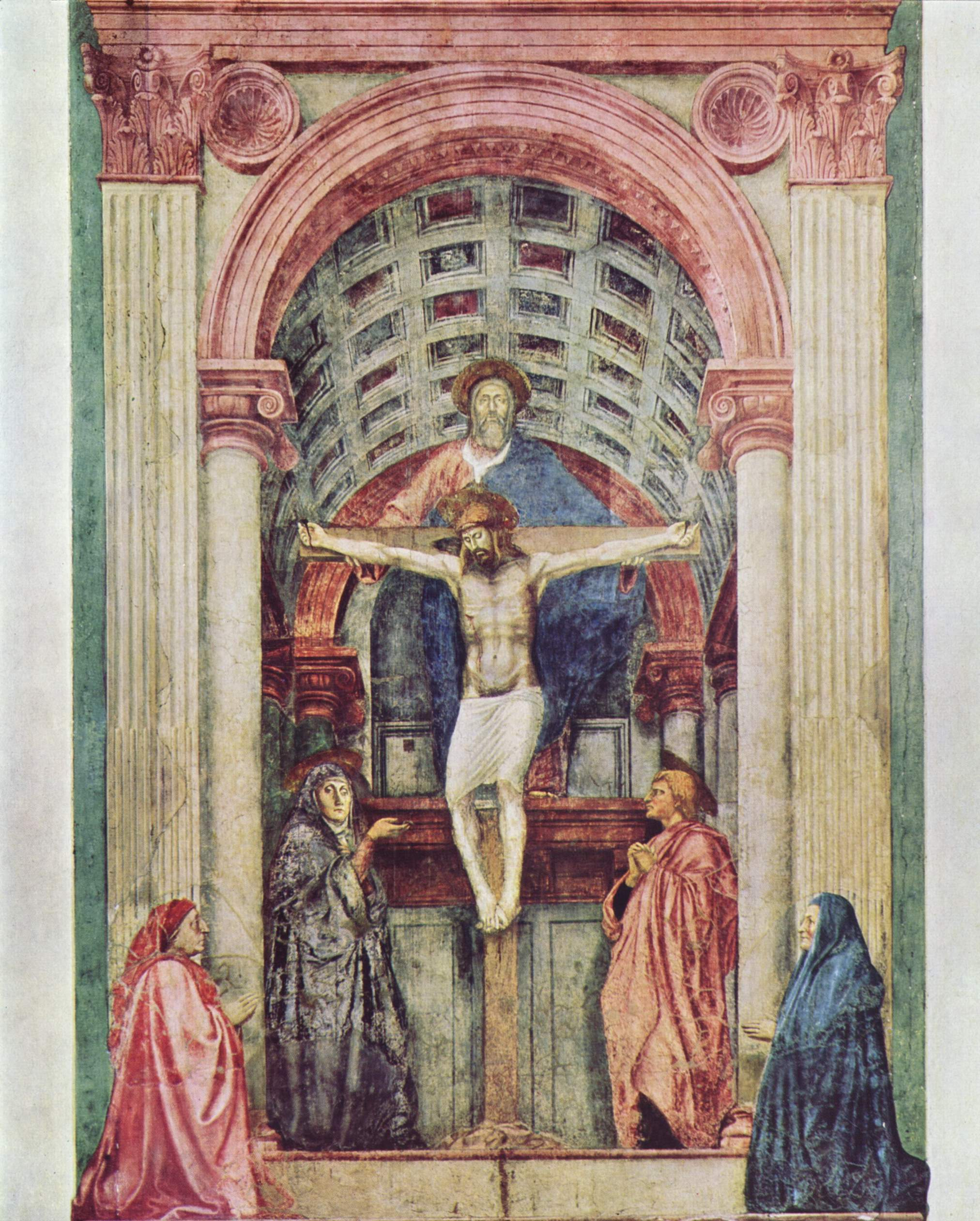 masaccio essay The life of masaccio (art history) essays 'it was masaccio, the youngest of all painters who were young before during and after him who, in his few youthful years.