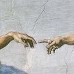 Detail from Michelangelo's Creation of Adam