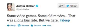 JB Tweet