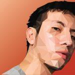 Alex Salvador - Lo Poly Self Portrait 1