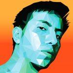 Alex Salvador - Lo Poly Self Portrait 2