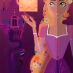 Alice Garcia - Tangled Poster