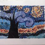 Anora Oblokulova - Starry Night Collage