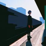 Illustration: Clemson Brown - Ressha (Train)