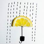Daniah Saifan - Lemon Umbrella