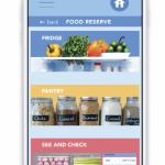 Web/Interactive: Irina Mashuryan -Smart Fridge Application