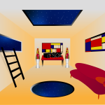 Salome Mindiashvili - Mondrian Room it's