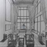 YiQiang Wang - One Point Perspective