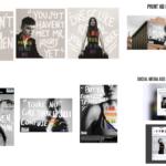 Graphic Design - Gabriel Morales & Kiyana Stoutt - I  Am Proud to be Me