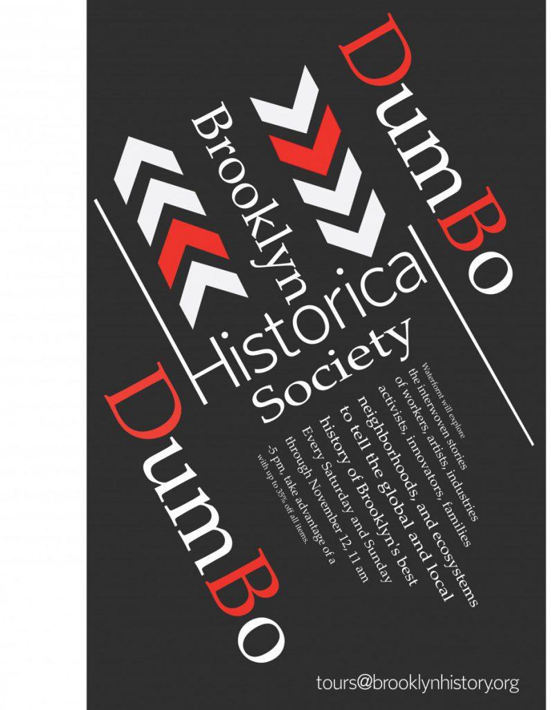 Todd Maloney Brooklyn Historical Society Poster Project Prof John De Santis