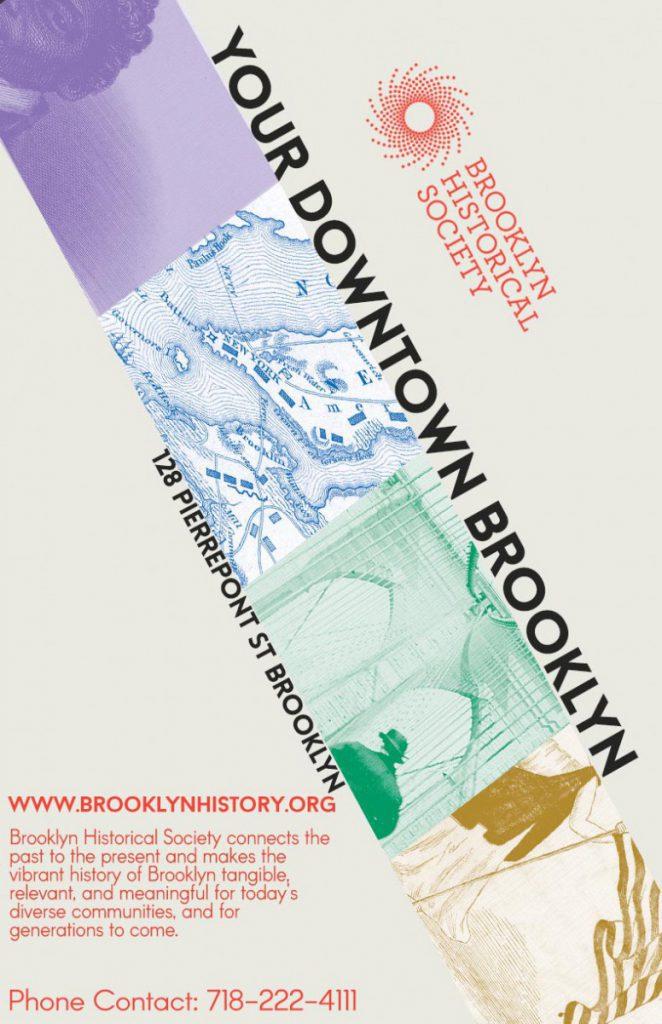 Rene Montero Brooklyn Historical Society Poster Project Prof John De Santis