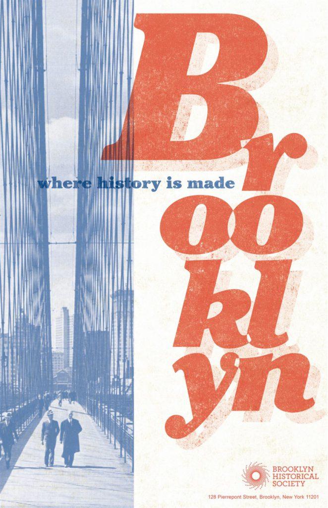 Rika Ohhashi Brooklyn Historical Society Poster Project Prof John De Santis