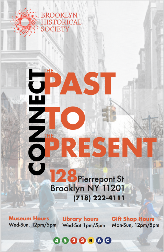 Marc Morin Brooklyn Historical Society Poster Project Prof John De Santis