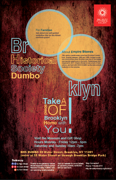 Dwanye Walker Brooklyn Historical Society Poster Project Prof John De Santis
