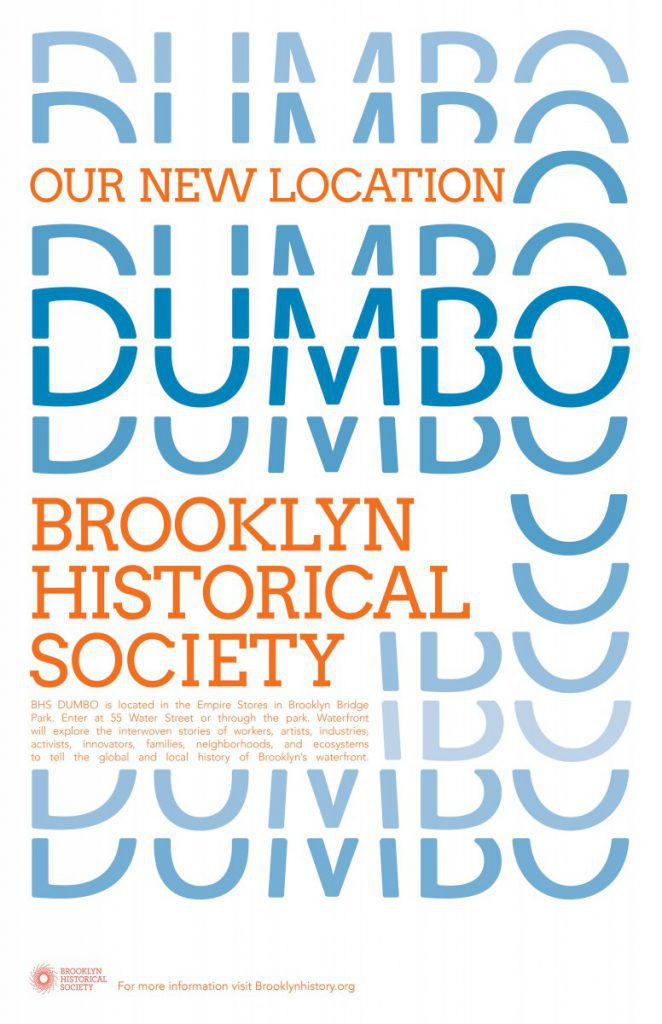 Lance Webley Brooklyn Historical Society Poster Project Prof John De Santis