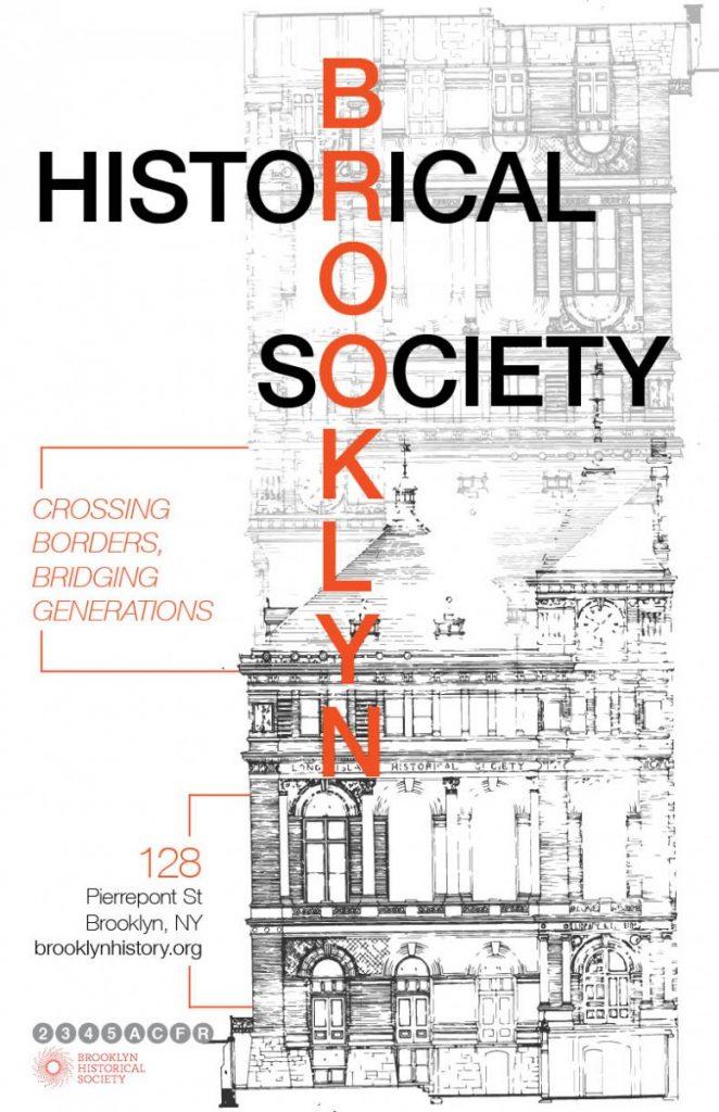 Brooklyn Historical Society Poster Project Prof John De Santis
