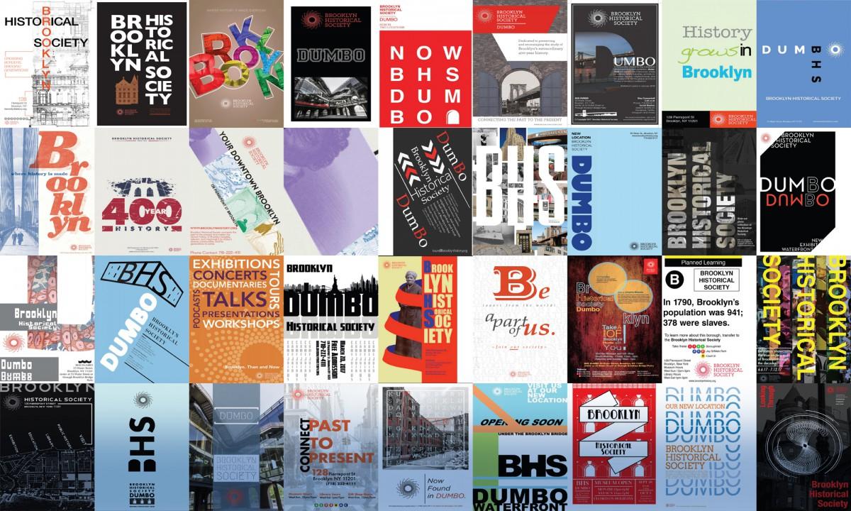 Typography Design III COMD2427 Brooklyn Historical Society