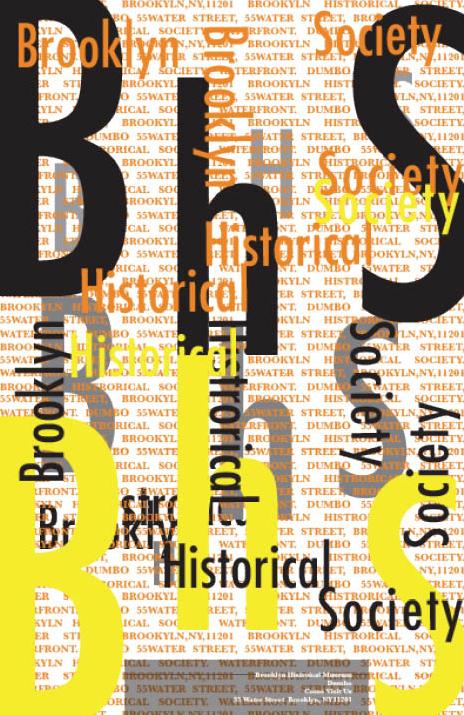 Zhana Dale Brooklyn Historical Society Poster Project Prof John De Santis