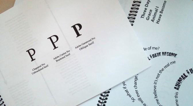 Final Type Book