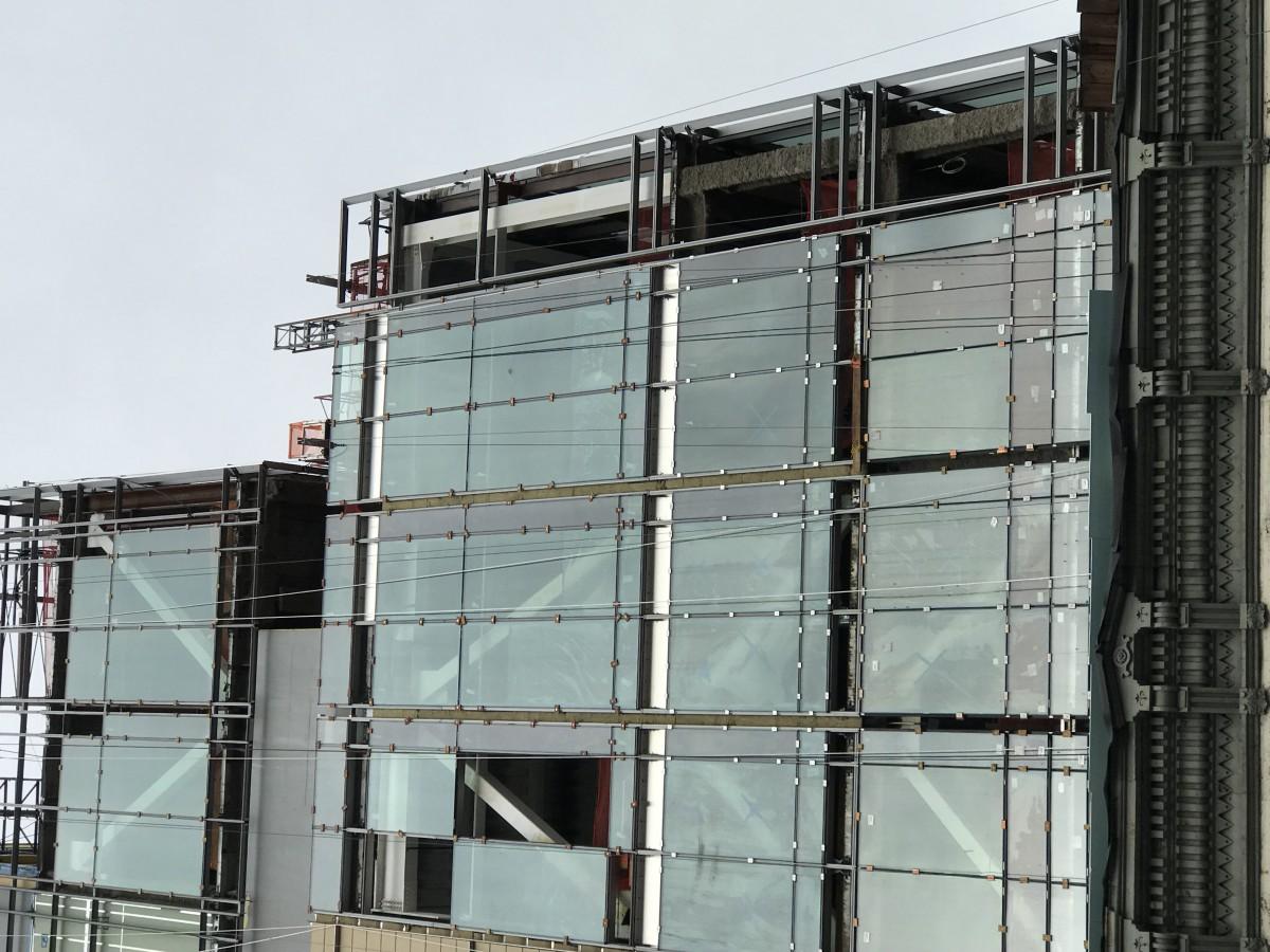 Curtain Wall Exterior : Exterior envelope building new york