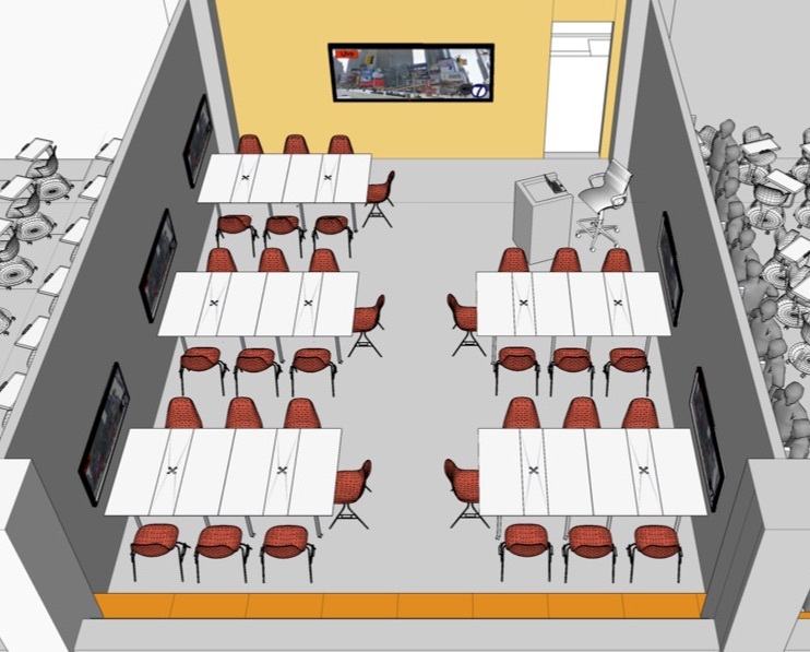 classroom group tables