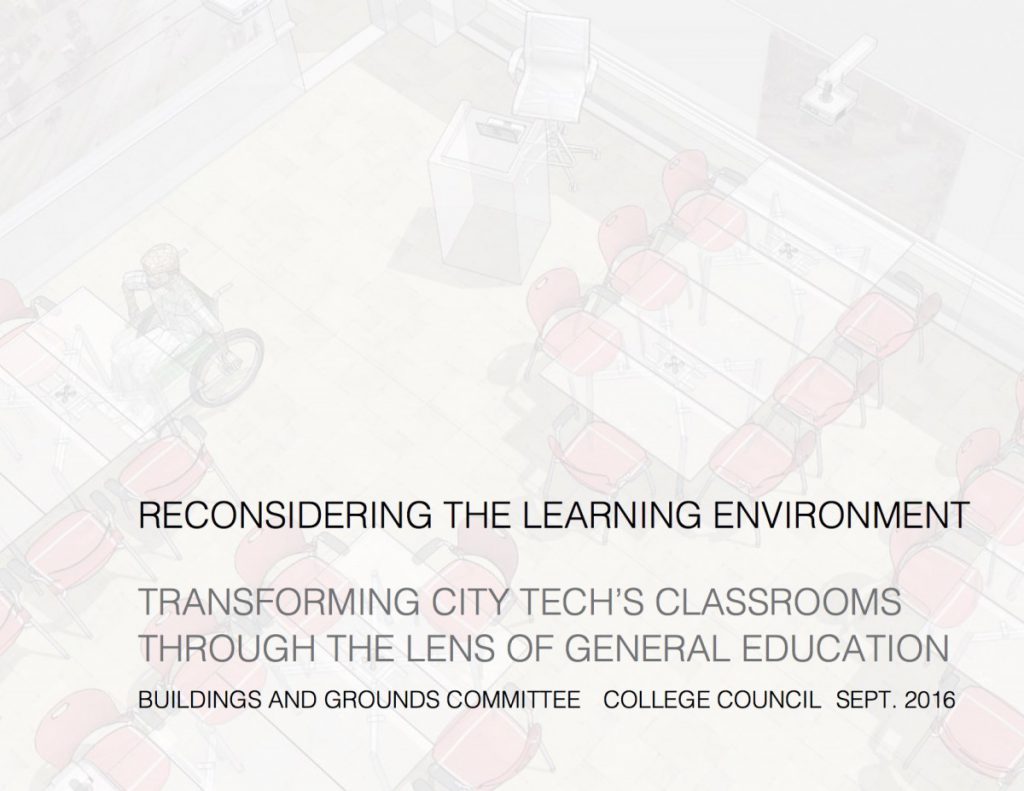 20160819Reconsidering the Classroom at City Tech