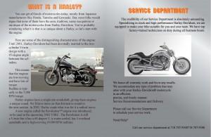 Harley Davidson Inside