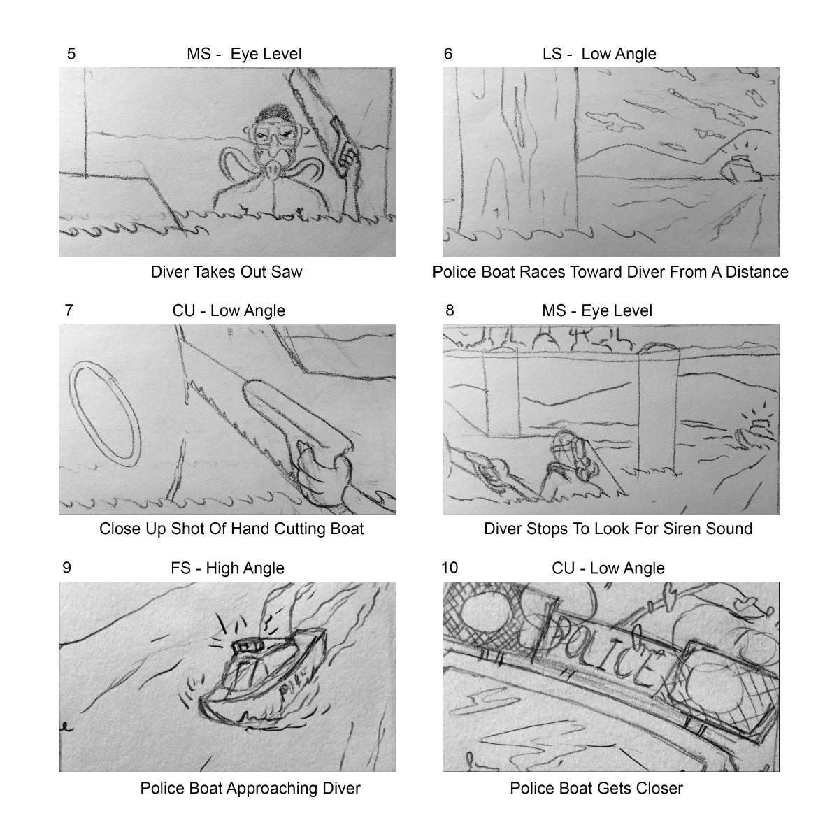 16x9 Ratio Storyboard Template 2